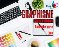 Graphisme - Infographie service de création de carte d'affaires
