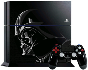 Star Wars edition PS4 w/ dock, two controllers, two games