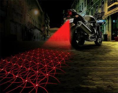 Laser Nebellicht für PKW, Motorrad, Nebelschlussleuchte, Show Laser, (Type 2)