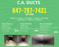 Air Duct and Ventilation cleaning.