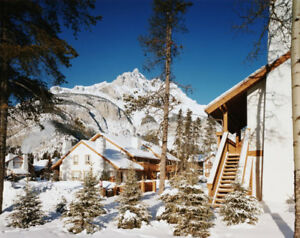 Banff Rocky Mountain Resort - March 24-31, 2019 deluxe 2BR unit