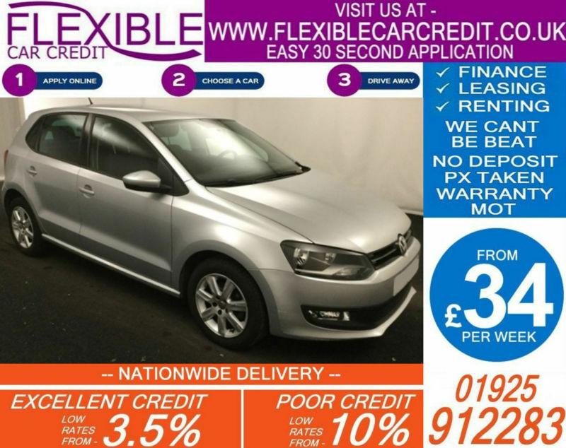 2014 VW POLO 1.2 MATCH EDITION GOOD / BAD CREDIT CAR FINANCE AVAILABLE
