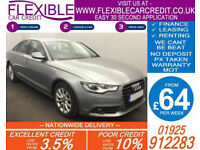 2014 AUDI A6 SALOON 2.0 TDI SE GOOD / BAD CREDIT CAR FINANCE AVAILABLE