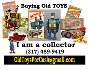 $ CASH $ Paid For Old Comic Books, Collectibles & Toys