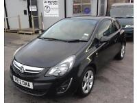 2012 (12) Vauxhall Corsa 1.4 SXI Black
