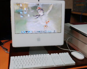i Mac 17 inch mint perfect working with mouse and keyboard