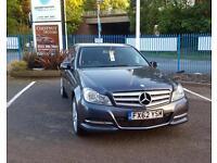 Mercedes-Benz C220 2.1CDI Diesel Executive 2012 BlueEFFICIENCY In Grey