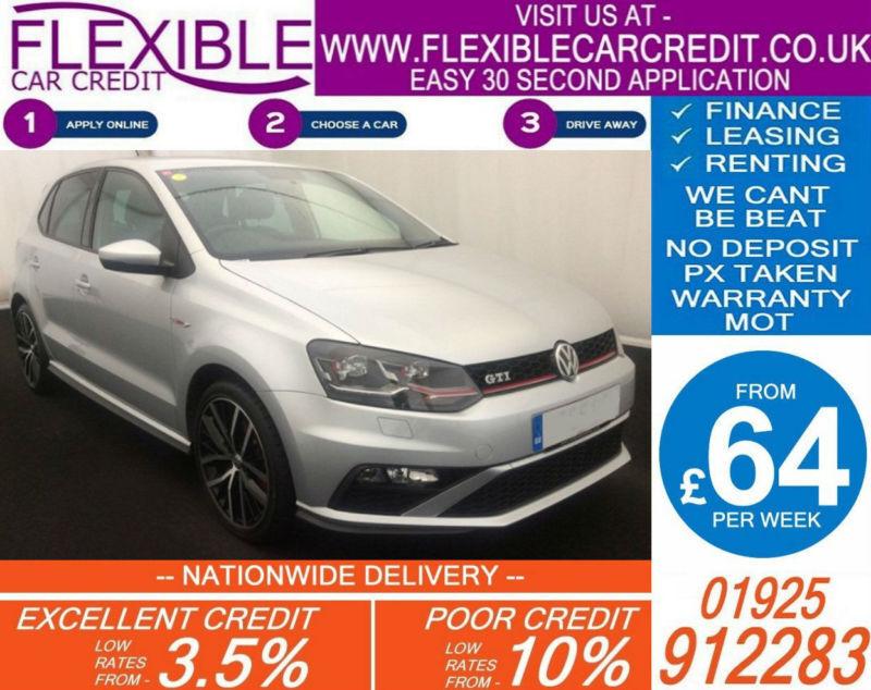 2015 VW POLO 1.8 GTI TSI GOOD / BAD CREDIT CAR FINANCE AVAILABLE