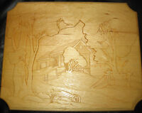 WOOD CARVINGS   See all pics