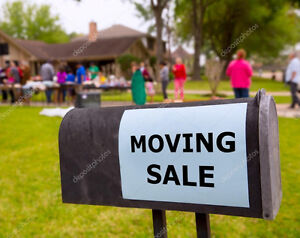 VICTORIA DAY MOVING SALEITS BEAUTIFUL  OUT IM OUT TILL 5PM