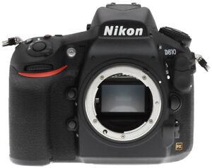 Nikon D810 Camera Mint