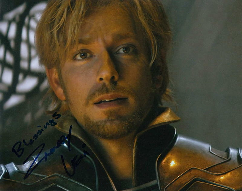 ZACHARY LEVI.. Thor: The Dark World's Fandral - SIGNED