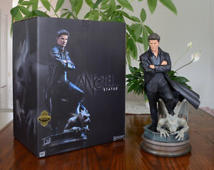 SIDESHOW ANGEL EXCLUSIVE MAQUETTE STATUE BUFFY NIB West Island Greater Montréal image 10