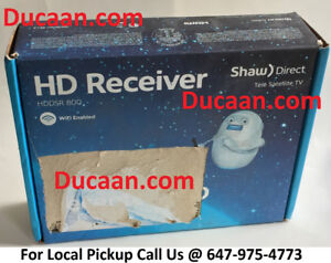 NEW Shaw Direct DSR800 HD High Definition Satellite Receiver