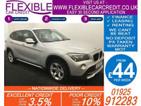 2009 BMW X1 2.0 TD SDRIVE20D SE GOOD / BAD CREDIT CAR FINANCE AVAILABLE