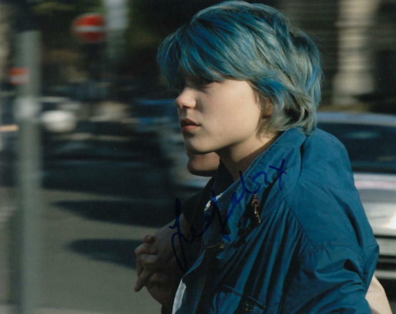 LEA SEYDOUX.. Blue Is The Warmest Color - SIGNED