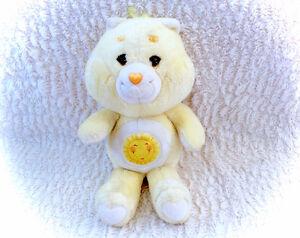 Vintage 1983 Sunshine Funshine Bear Care Bears Kenner Plush