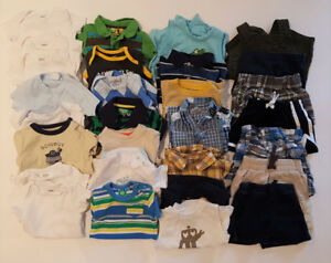 6-9 Month Boy Shorts/Shirts (22 outfits)