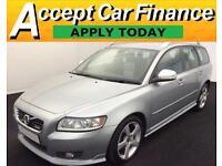 Volvo V50 1.6D D2 ( 115PS ) 2012MY R-Design FROM £36 PER WEEK !