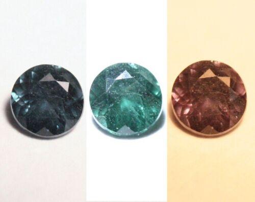 0.2ct Blue Colour Change Garnet Bekily Madagascar Worlds Rarest Garnet 3x3mm