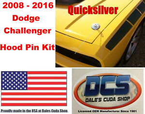 2008 2018 Dodge Challenger Hood Pin Kit NEW MoPar USA