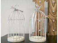2 Bird decorative bird cages (wedding)