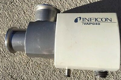 Inficon Pneumatically Actuated Valve Vap040-a - Free Fast Shipping A01