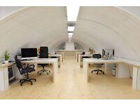 7 desks available now for £200.00 per desk per month