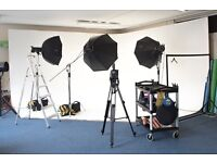 £60/Day Cheap Photo Studio Hire | Photography Studio CHEAP | Low Price | Greenwich | Fully Equipped