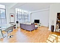 TWO bed TWO bath warehouse conversion near OLD STREET tube