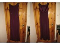 Size 14 Burgundy/Wine Monsoon dress, Lovely Bridesmaids/Prom dress