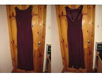 Size 14 Burgundy/Wine Monsoon dress, Lovely Bridesmaids dress