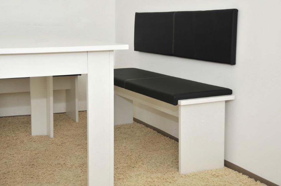 XXL Wandkissen mit Montage-Set 150cm x 30cm passend zu Klemmkissen versch Farben