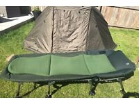 Nash indulgence mk4 bed chair & carry bag ex condition
