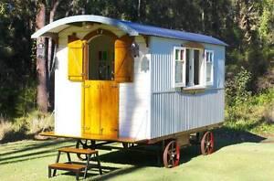 Shepherd's Hut/Gypsy Caravan Marks Point Lake Macquarie Area Preview