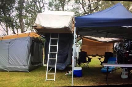 roof top camper trailer great con rego trailer nice set up