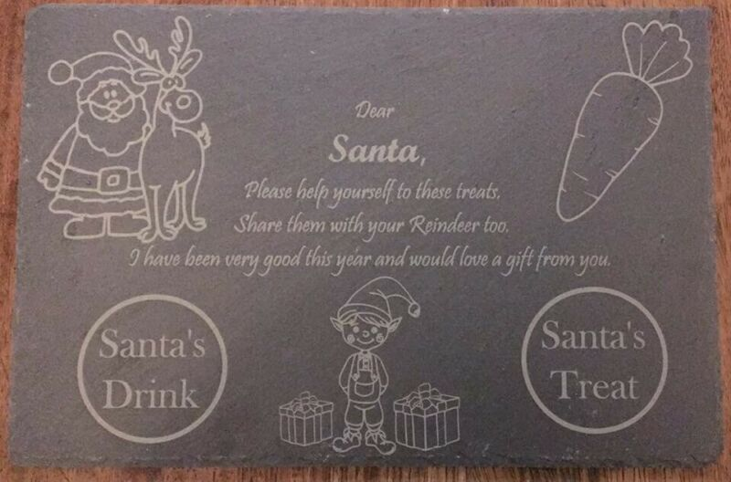 Santa+Treat+Board+-+Santa+Plate+Christmas+Eve+Plates+Xmas+Eve+Board