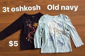 Assorted clothes in 3t size