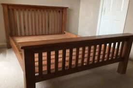 Toulouse solid oak bed benson for beds