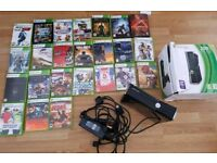 Xbox 360 + over 24 games
