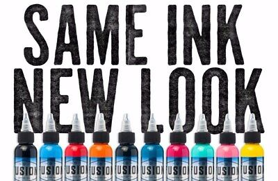 Fusion Tattoo Inks Individual Single Bottles 1 oz 30 ml Size 105 Colors for Pick](Cream For Tattoos)