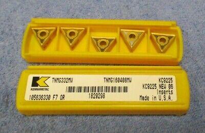 Kennametal  Carbide Inserts  Tnmg 332 Mw  Grade Kc9225  Pack Of 5