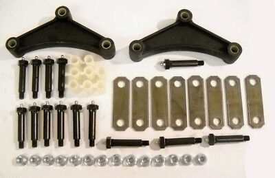 Greaseable Bolt Kit - Greaseable Tandem Axle Trailer Spring Suspension Rebuild Kit Wet Bolt 3