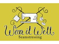 Seamstress available for all work: Curtains, evening gowns, suits, roman blinds, everything!