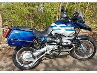 Bmw R1150GS 2003 Blue and White, full History, Years Mot on collection, lots of extra's Touratech
