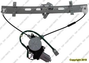 Window Regulator Front Driver Side Power Japan Built Only Civic Sedan Honda Civic 2001-2005