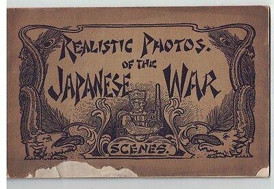Souvenir Of The Japanese War Scenes Circa 1904 Russo Japanese War