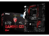 Intel i5 6500 & B150 Gaming M3 Motherboard