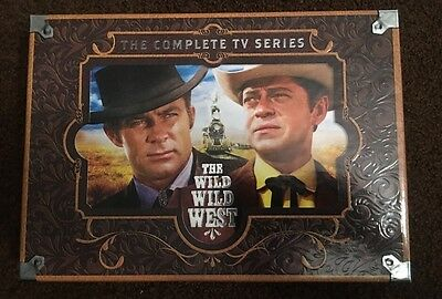 The Wild Wild West The Complete TV Series Seasons 1-4 Box Set 27 DVDs