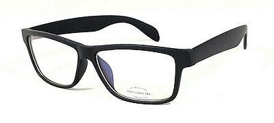 Focus Anti Glare Computer Glasses Reduce Blue Light Modern Square Matte Black